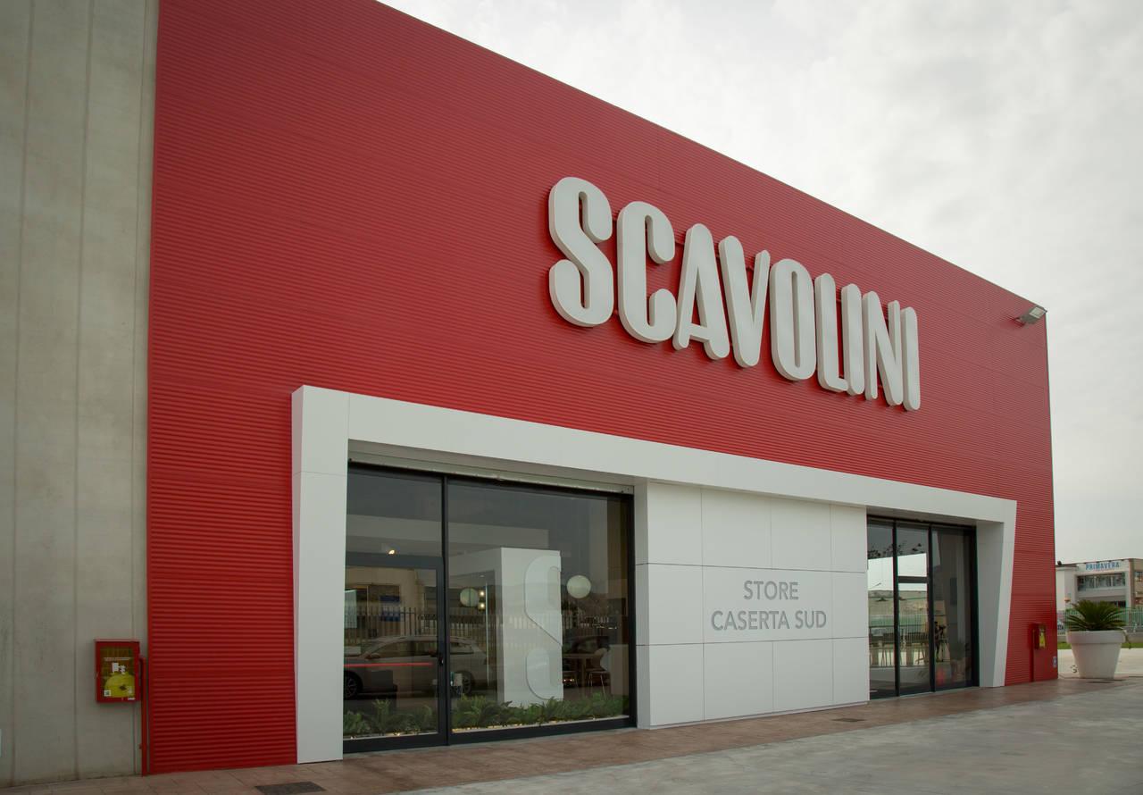 Scavolini Store Caserta Sud: volumi importanti per arredare in grande