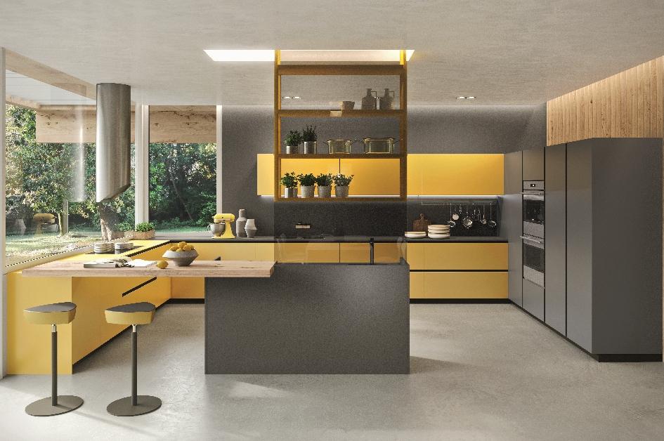 I Nuovi Vetri Delle Cucine Cristalline Ambiente Cucina