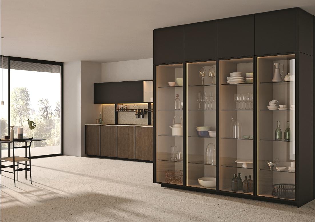 I nuovi vetri delle cucine cristalline ambiente cucina - Cucine con vetrate ...