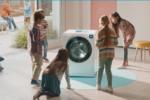 La lavatrice Bianca è protagonista della nuova campagna di comunicazione Candy