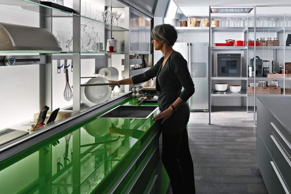 Valcucine e il vetro, un percorso di ricerca e innovazione lungo 30 anni