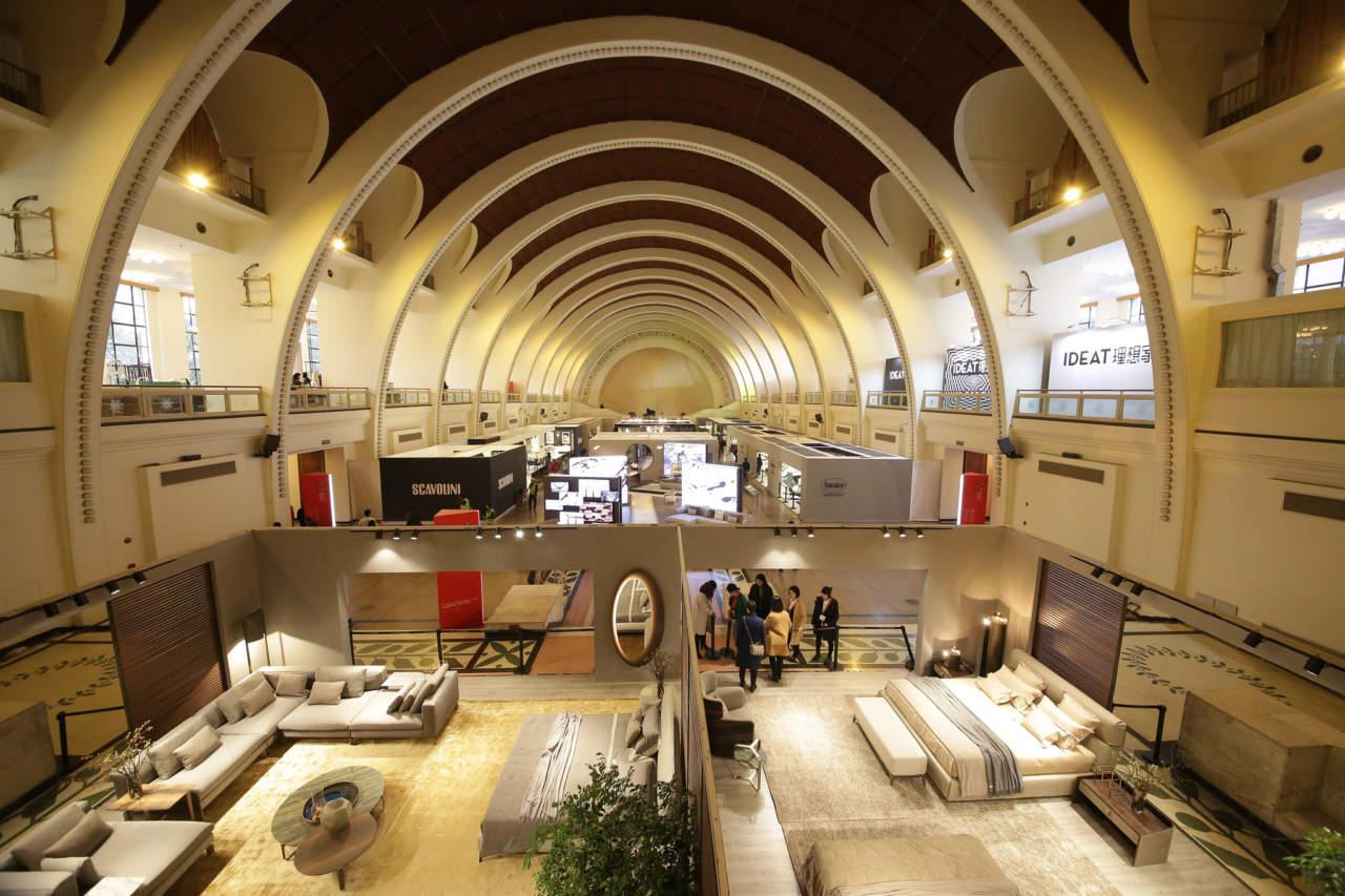 Inaugurato oggi il salone del mobile milano shanghai for Il salone del mobile