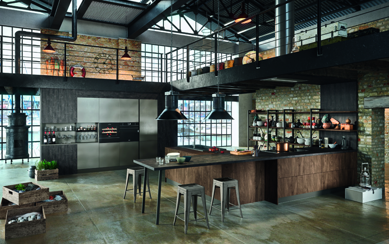 Industrial by Astra Cucine