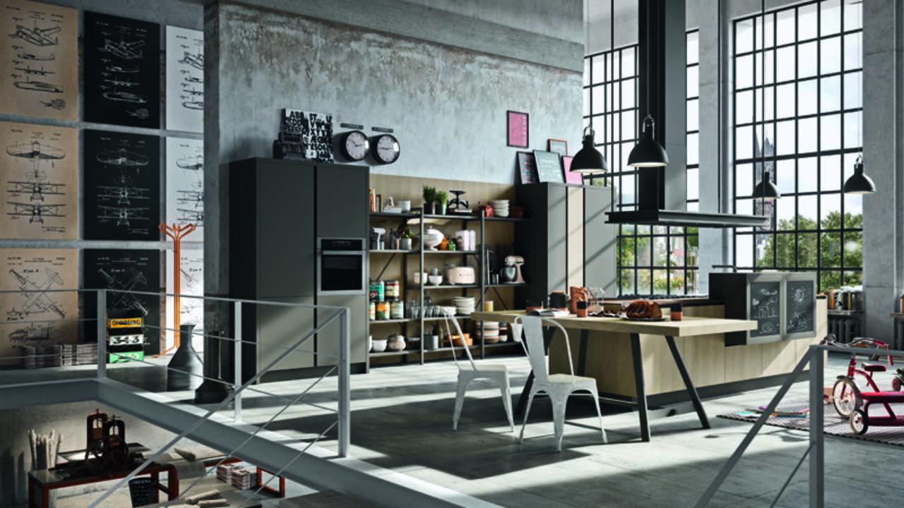Astra Cucine, i nuovi trend Industrial e Contemporary ...
