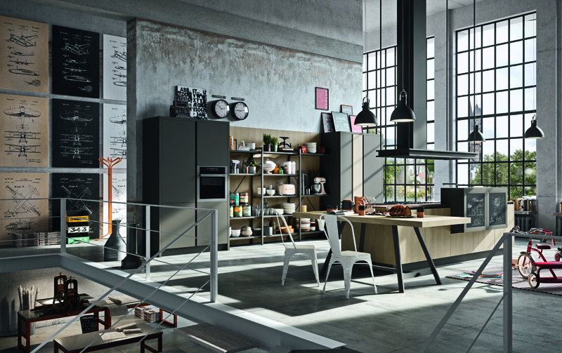 Astra Cucine, i nuovi trend Industrial e Contemporary | Ambiente Cucina