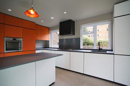 Minacciolo arreda la cucina di una casa londinese