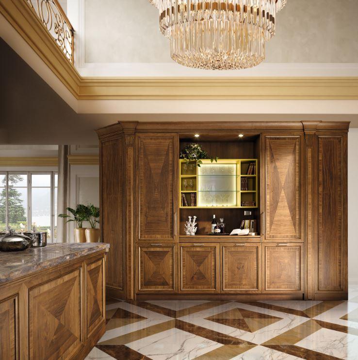 Atmosfere senza tempo per la cucina martini mobili - Mobili luxury design ...