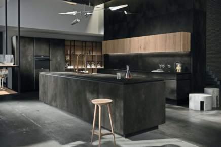 Con Way Materia la cucina è aperta al living