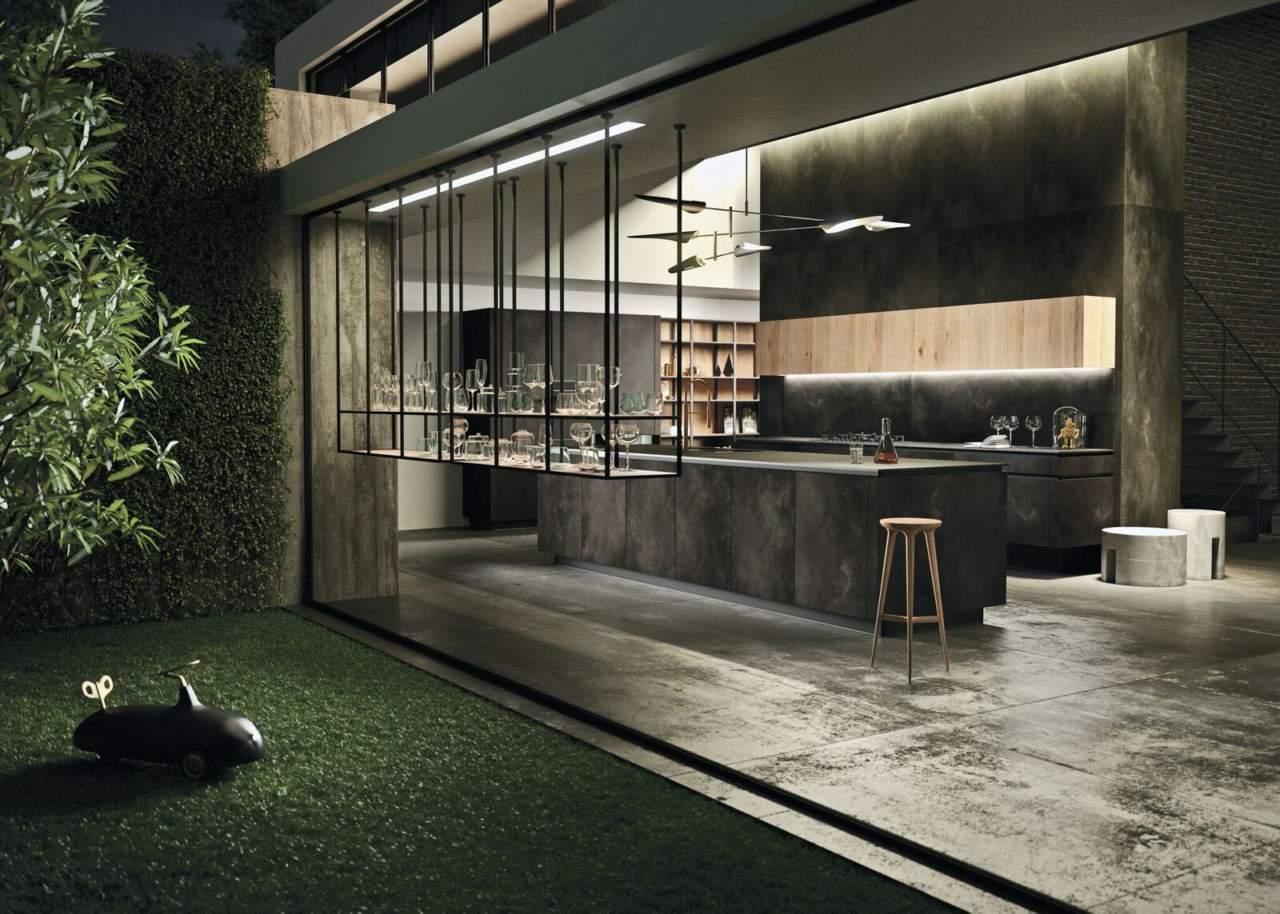 Con Way Materia la cucina è aperta al living | Ambiente Cucina