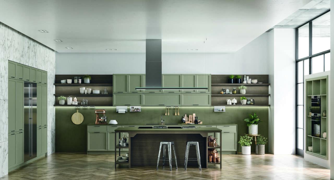 Lusso semplice per la nuova collezione doimo ambiente cucina for Piani di trama per la mia casa