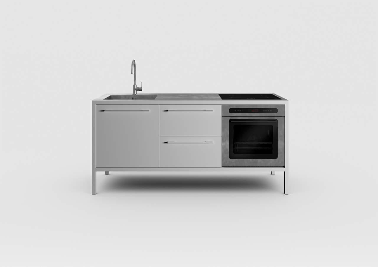 Fantin propone una collezione interamente in metallo | Ambiente Cucina