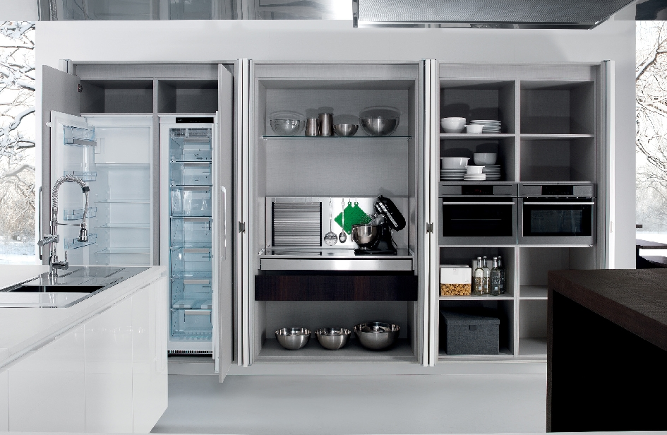 Armadi straordinari ambiente cucina - Armadio dispensa cucina ...