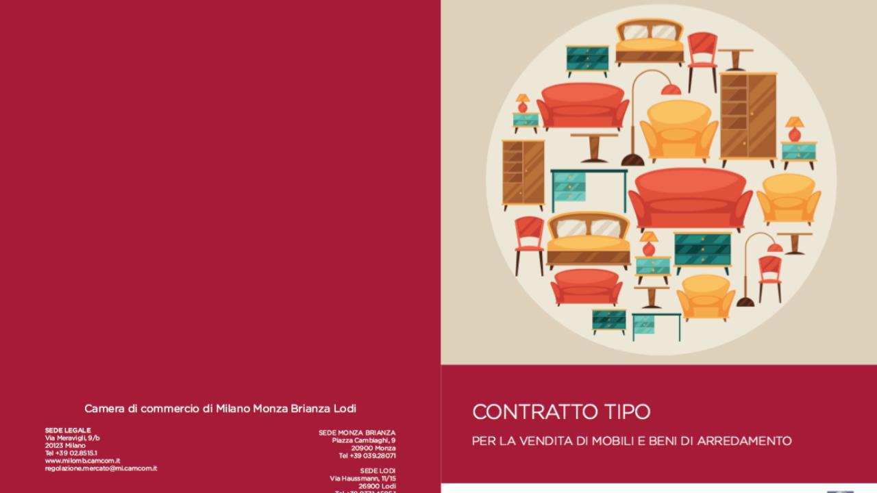 Arredamento Buongiorno Lodi un nuovo contratto tipo per la vendita di mobili | ambiente