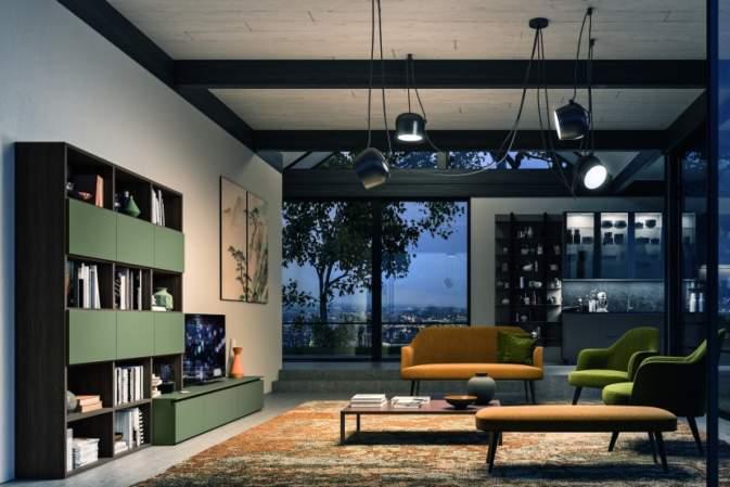 Day System, la nuova collezione living di Composit ad alta flessibilità