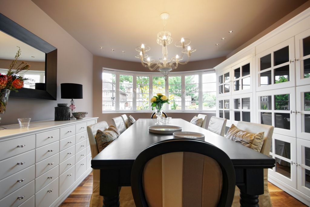 Il mood globale di una residenza inglese ambiente cucina - Sala da pranzo in inglese ...