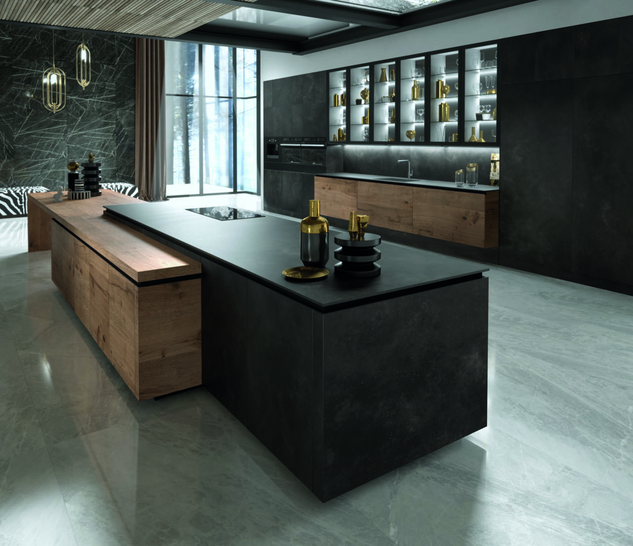 Anteprima eurocucina 2018 snaidero ambiente cucina for Aziende cucine design