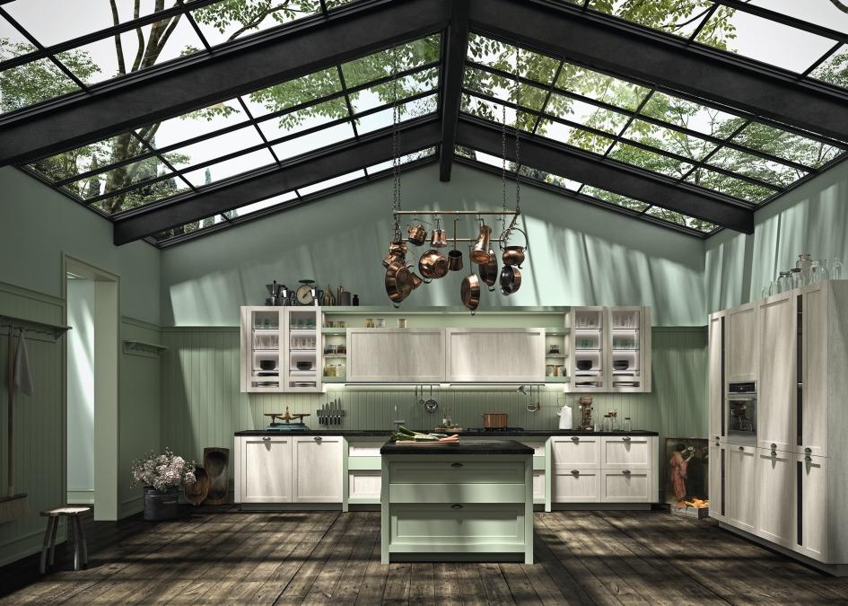 L\'accento inglese della cucina Hera, di Snaidero | Ambiente Cucina