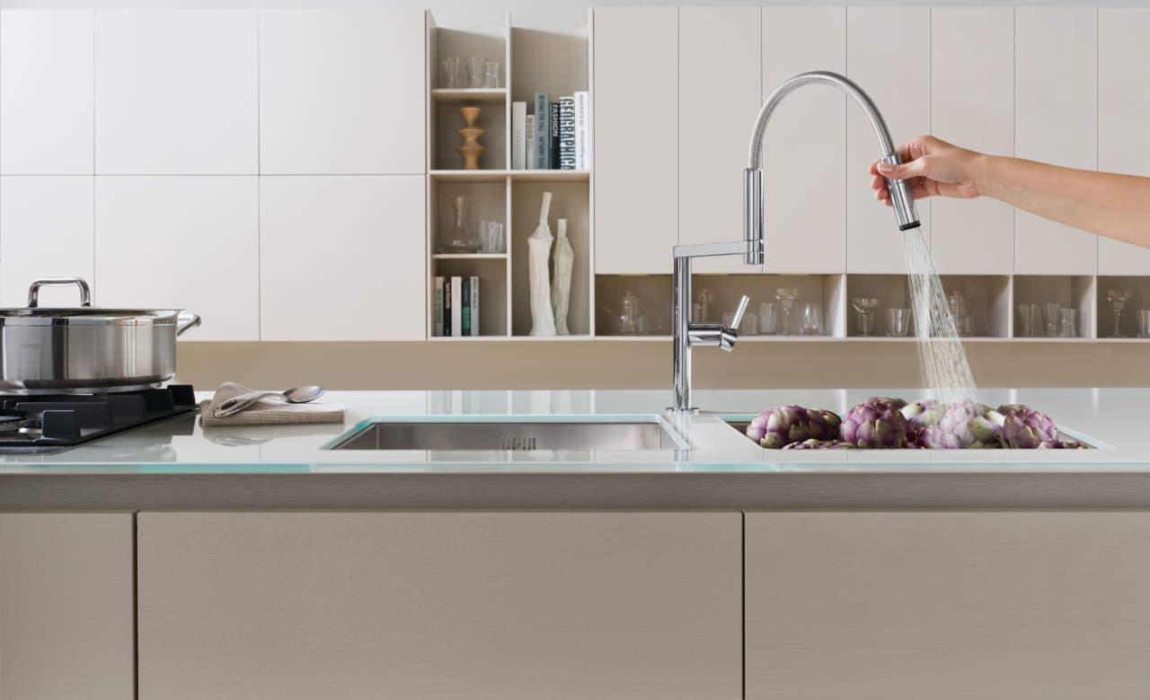 Move di Nobili unisce ergonomia e risparmio idrico | Ambiente Cucina