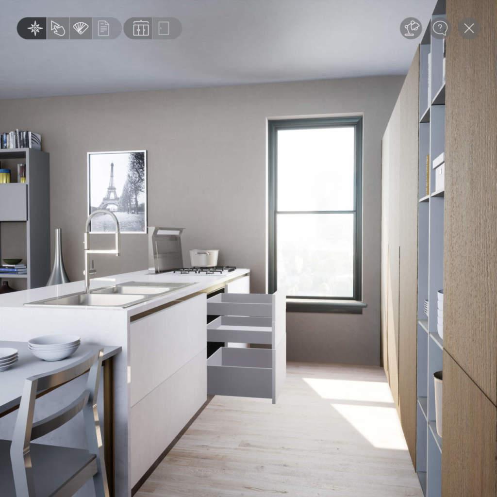 Scavolini e tesy software arredano casa con virtuo come for Gioco arredare casa virtuale