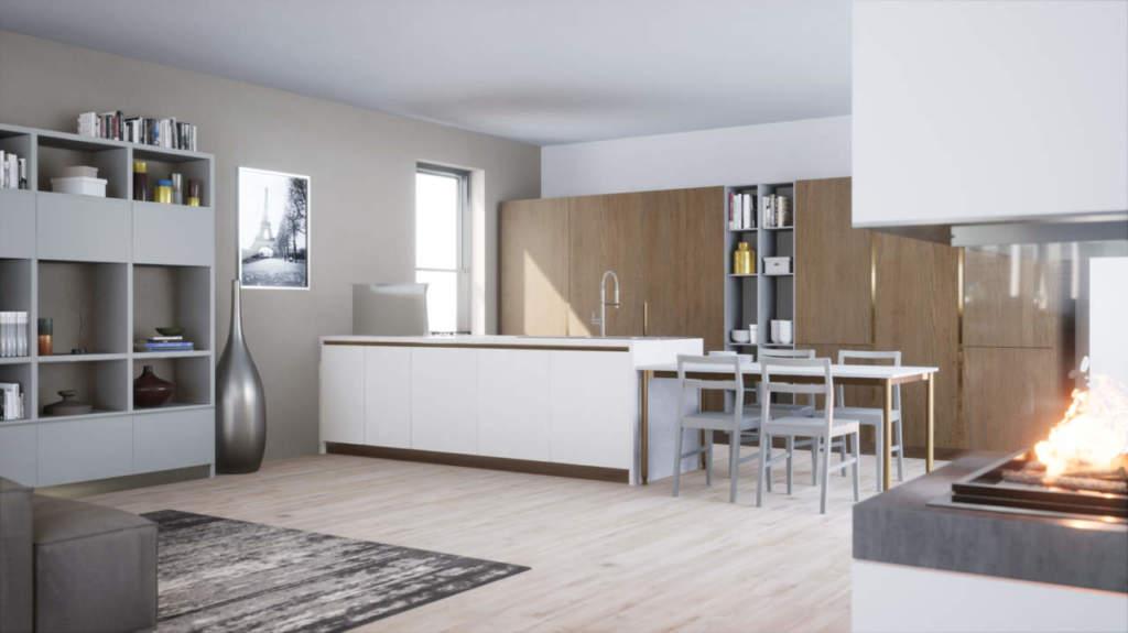 Scavolini e tesy software arredano casa con virtuo come - Software cucine 3d ...