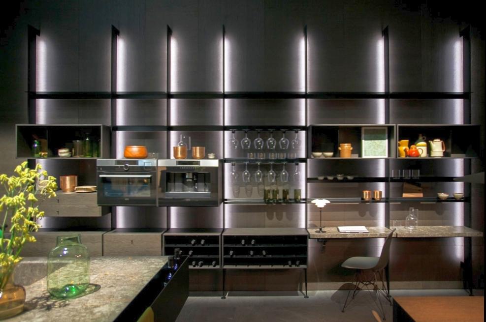 Cucina Con Boiserie : Soggiorno rustico country affascinante arredamento cucina