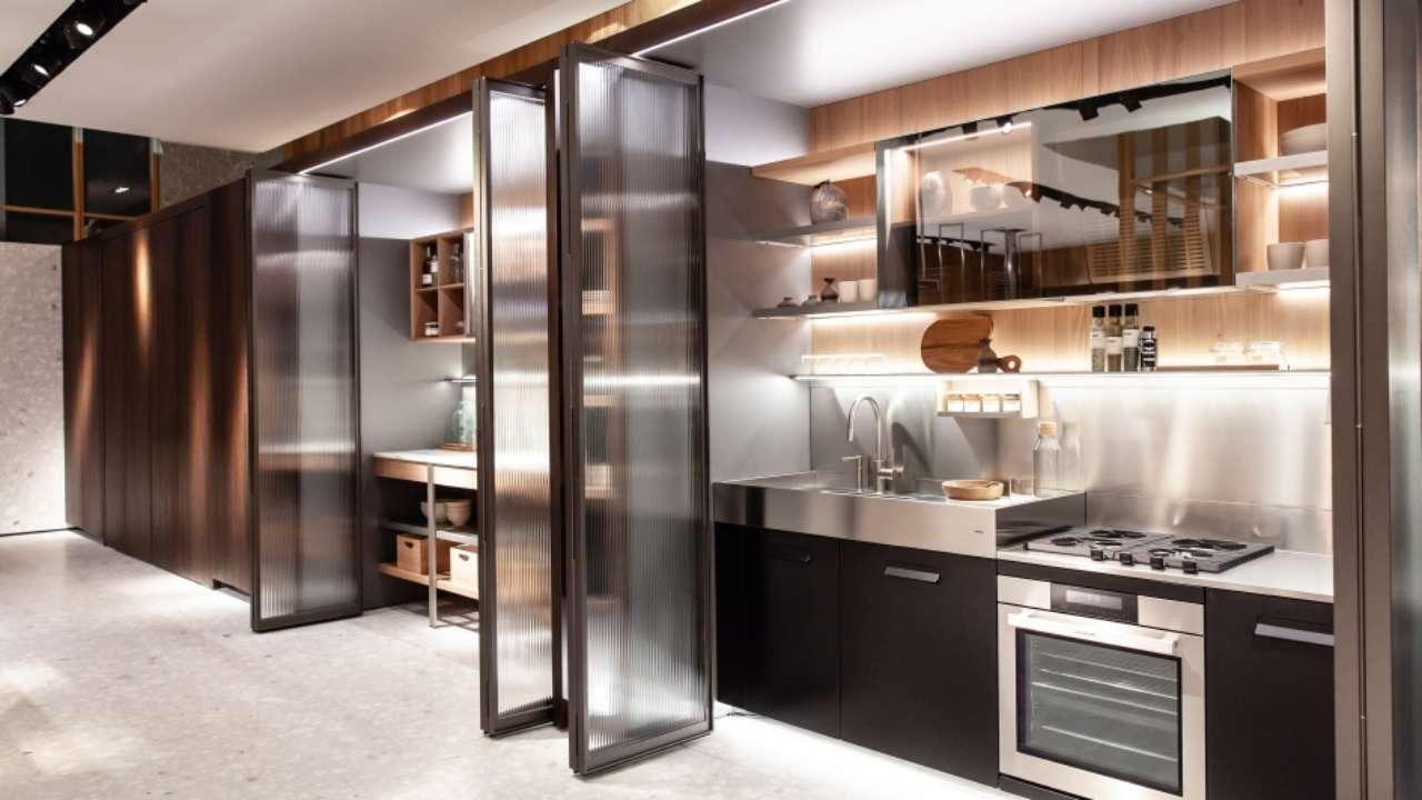 Angolo Cottura Ad Armadio.Funzionalita Inside La Cucina Dentro L Armadio Ambiente Cucina