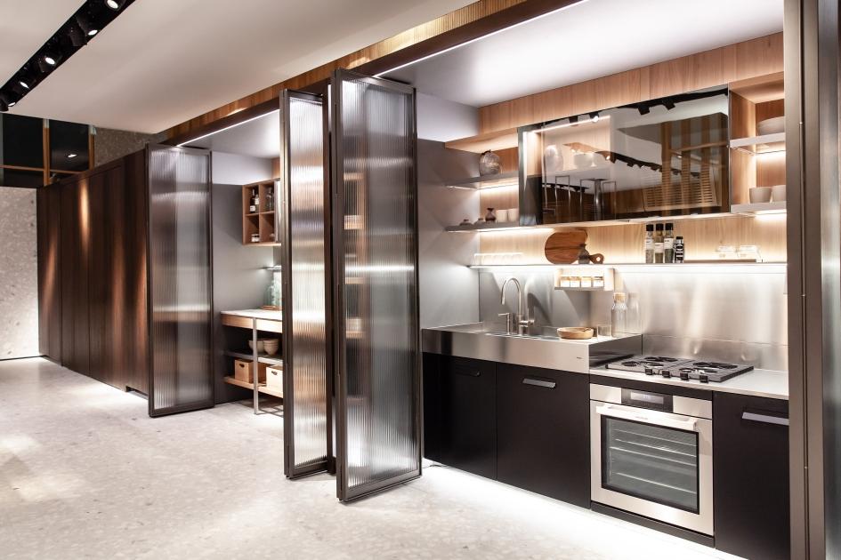 Cucine Con Angolo Cabina.Funzionalita Inside La Cucina Dentro L Armadio Ambiente Cucina
