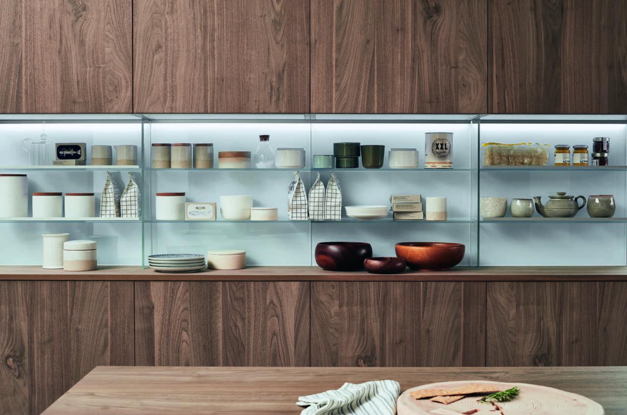 Pìù modularità, più progetti con il sistema Lounge di Veneta Cucine