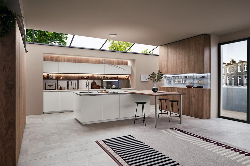 Veneta Cucine Componibile.Piu Modularita Piu Progetti Con Il Sistema Lounge Di Veneta
