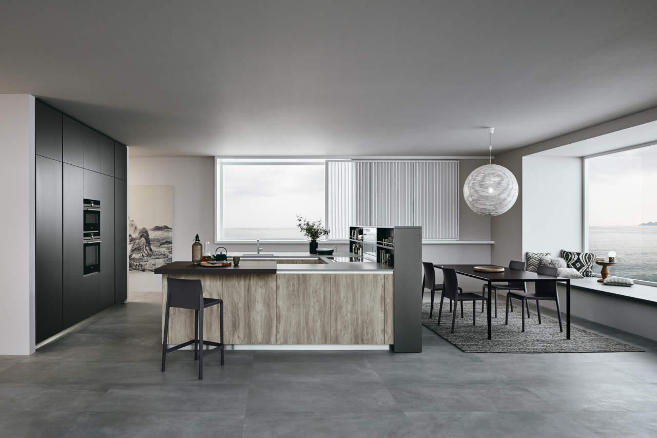 P modularit pi progetti con il sistema lounge di veneta cucine - Veneta cucine lounge ...