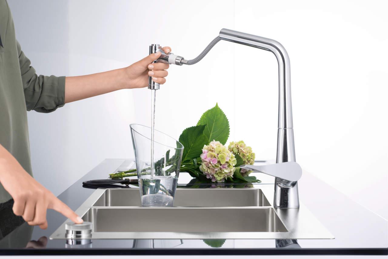 Lavello e rubinetto per hansgrohe sono un unicum | Ambiente Cucina