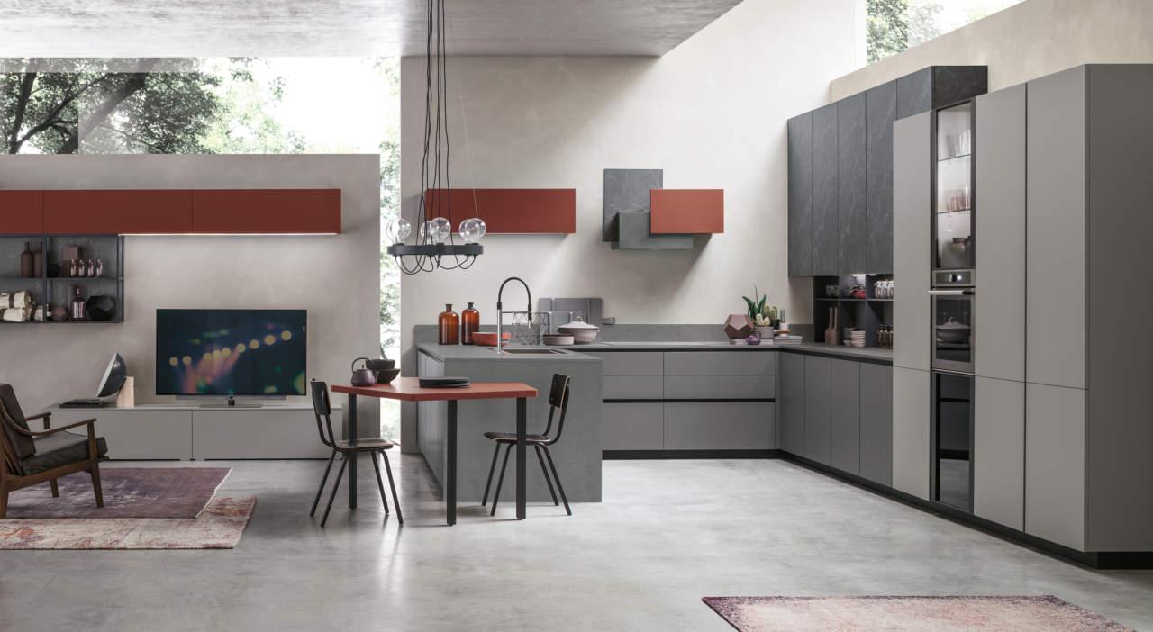 Metropolis by stosa combina design e innovazione for Aziende cucine design