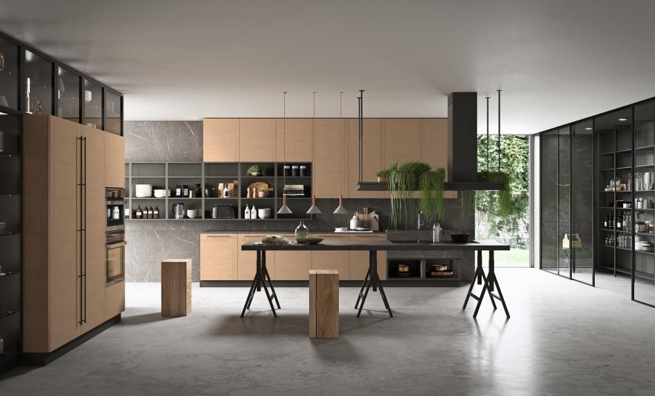 Mood, di Astra Cucine: l\'intesa perfetta tra progetto e materia ...