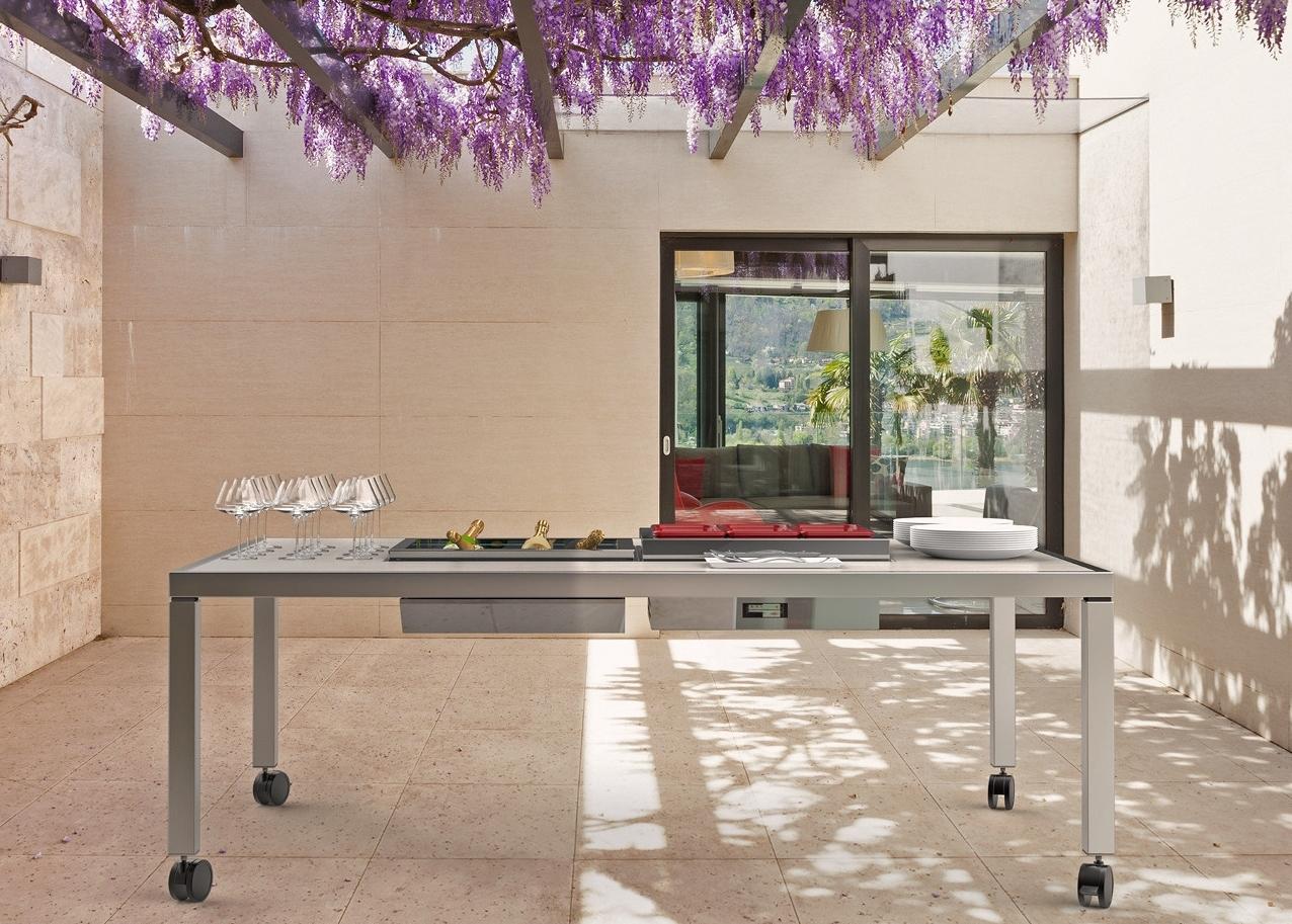 Piano Di Lavoro A Ribalta tavoli trasformisti | ambiente cucina