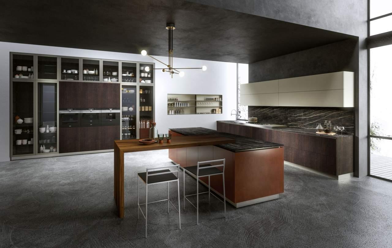 Il programma R1, di Rastelli: cucina e living inseme con eleganza ...