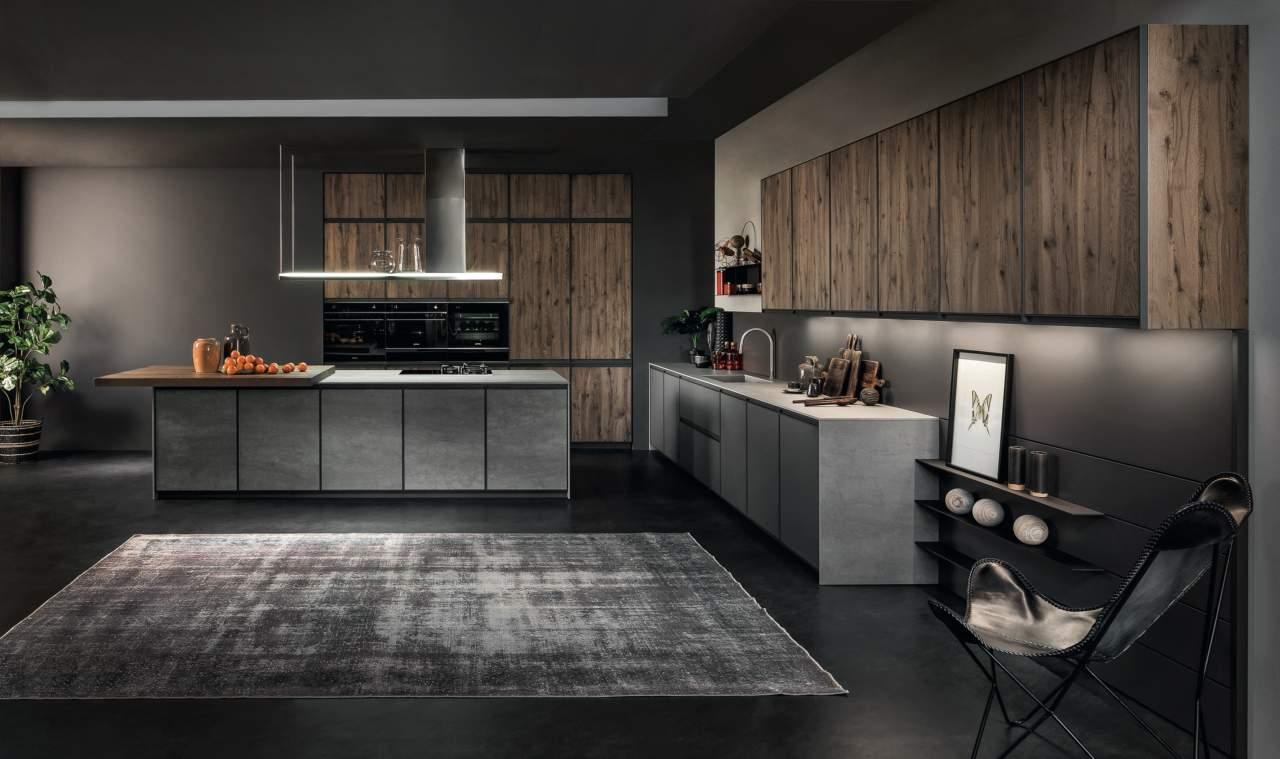 Pi spazio alla personalizzazione con la collezione kronos for Aziende cucine design