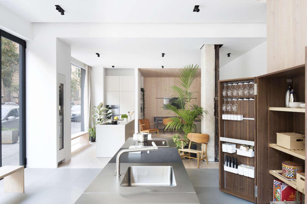 A Palermo il nuovo showroom di Bulthaup | Ambiente Cucina