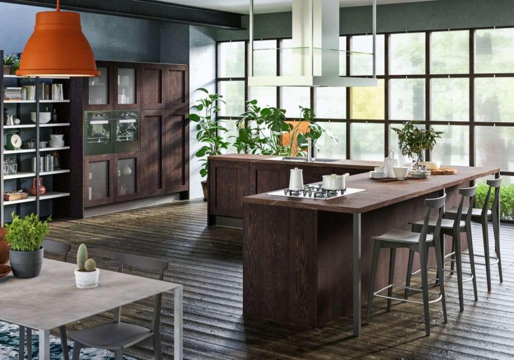 I nuovi look delle cucine in legno ambiente cucina