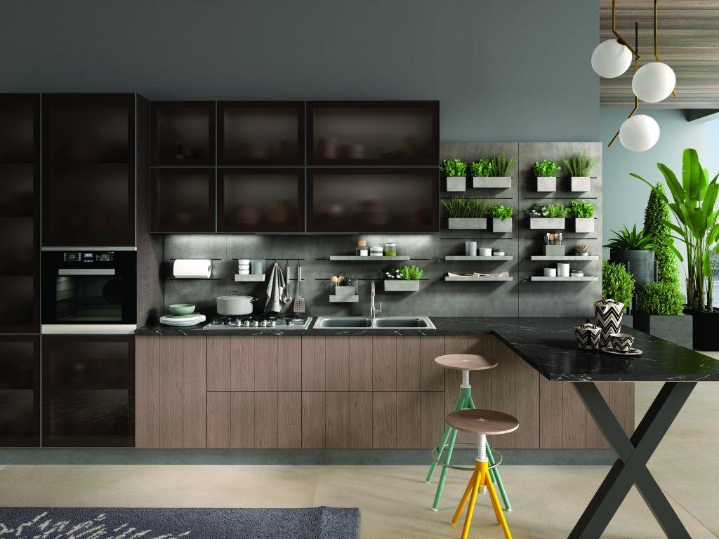 Moduli e sistemi a giorno per cucine versatili | Ambiente Cucina