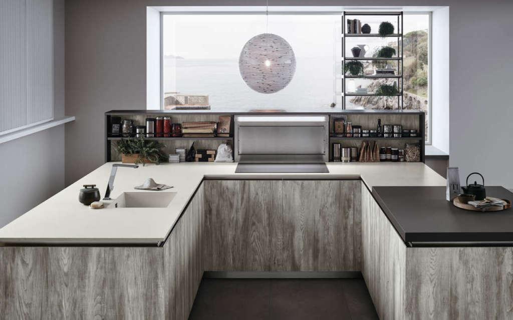 Il look minimal dello stile nordico ambiente cucina - Veneta cucine lounge ...