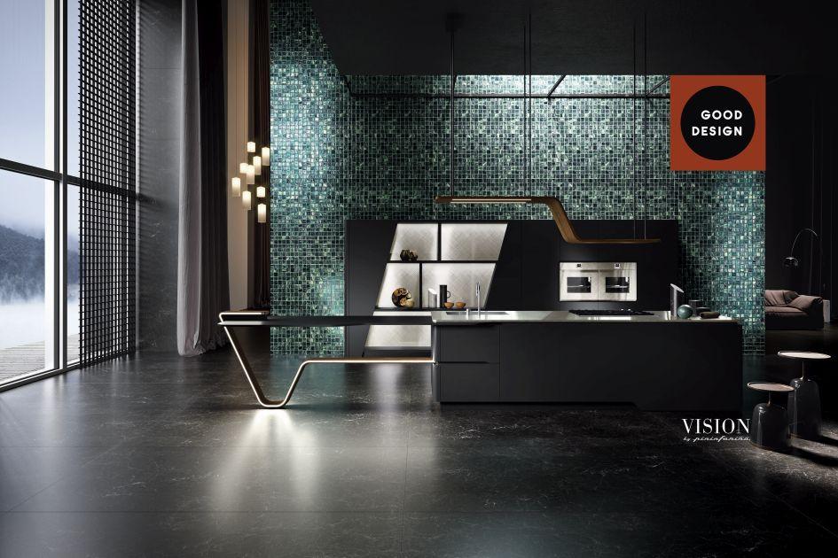 La cucina vision di snaidero premiata ai good design - Aziende cucine design ...