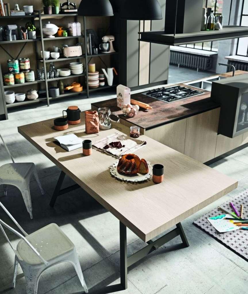Tutti Al Top Banconi E Tavoli Penisola Per Zone Pranzo Informali Ambiente Cucina