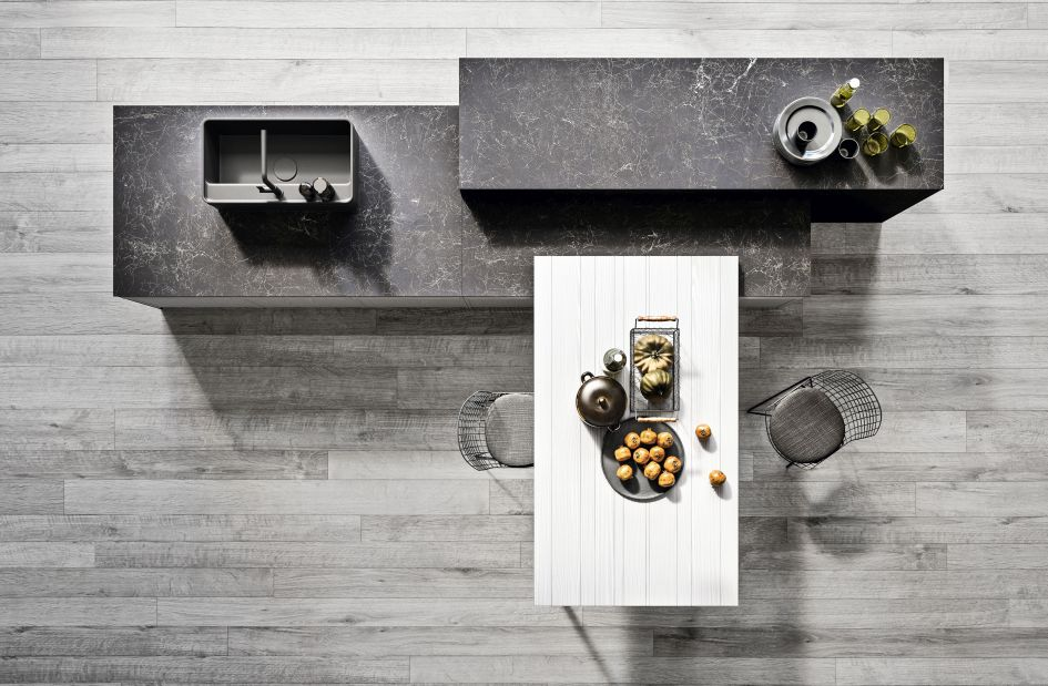 Tavolo Bancone Cucina.Tutti Al Top Banconi E Tavoli Penisola Per Zone Pranzo