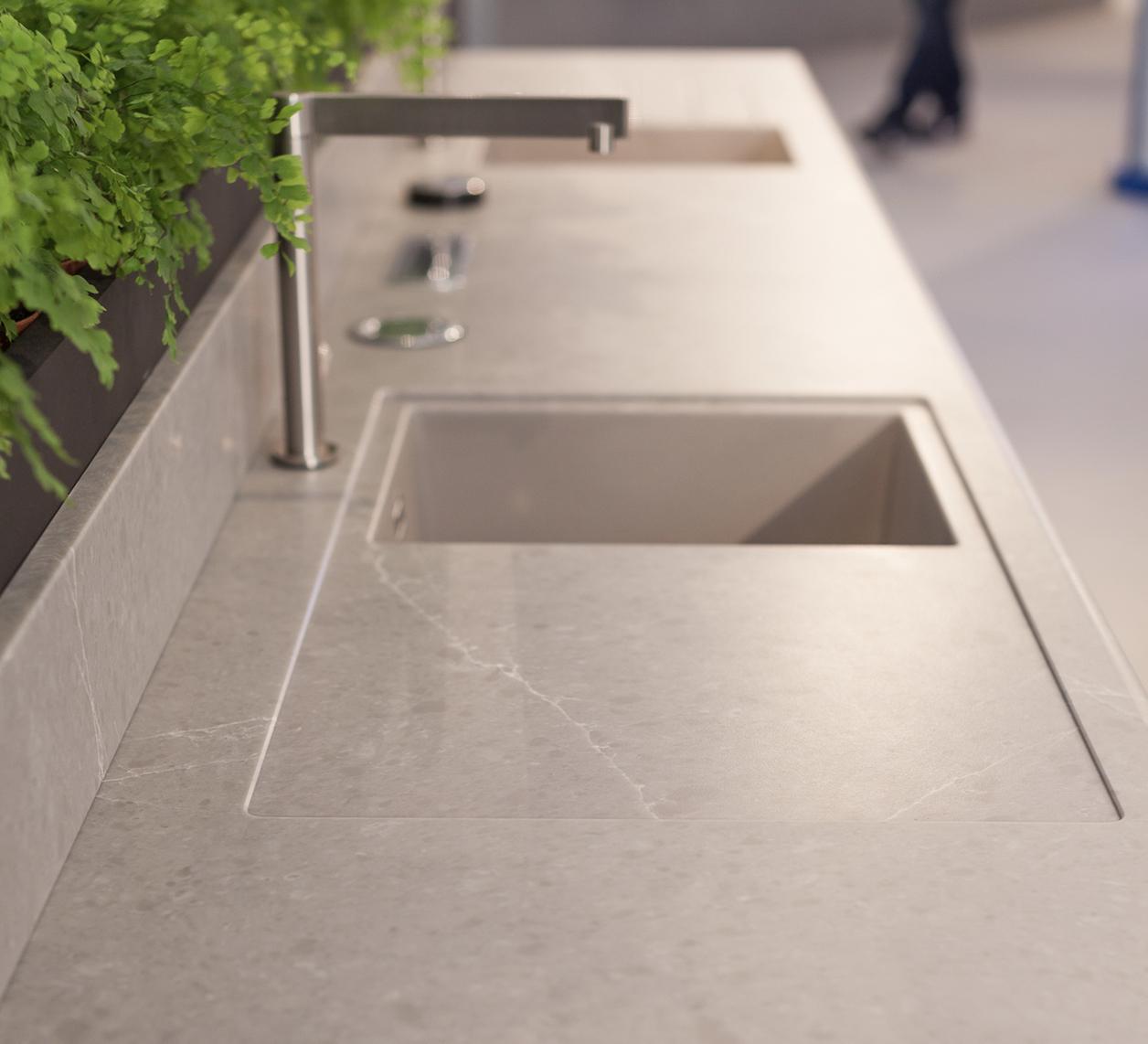Misure Standard Top Cucina glem gas, marmo arredo, quartzforms e schock insieme per l