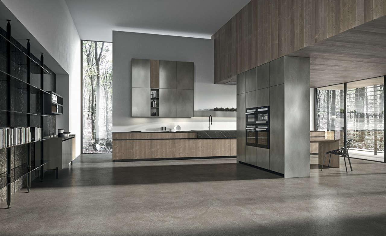 Arrital presenta ak 05 tailor made la cucina pensata per for Aziende cucine design