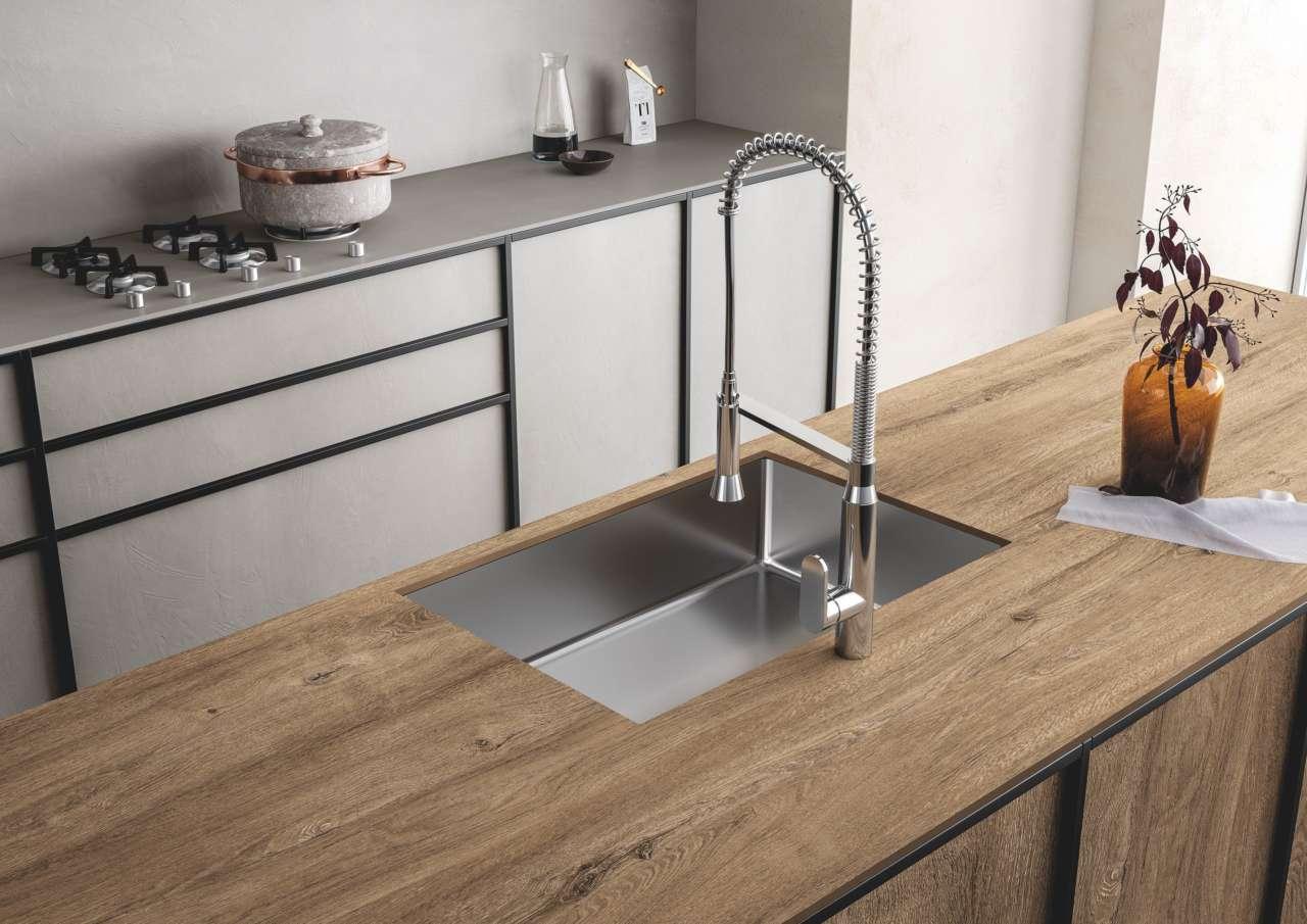 Piano Cucina Gres Opinioni sapienstone, ispirazione legno e vocazione grès | ambiente