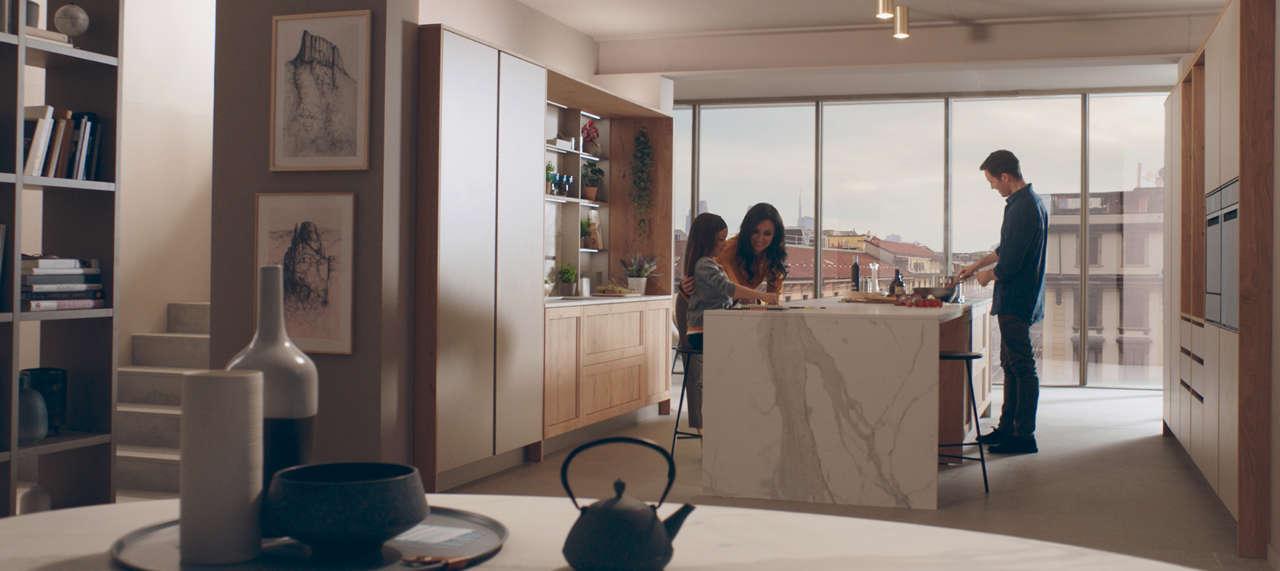 """Veneta Cucine presenta la campagna pubblicitaria """"Caranto"""
