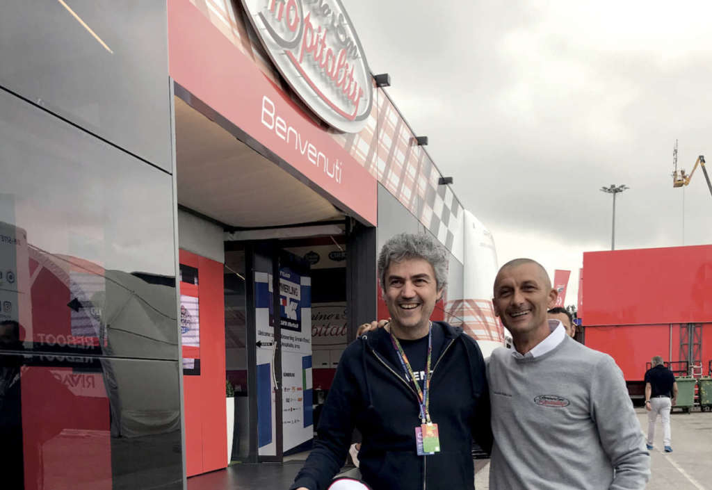 Roberto Berloni e Daniele Ridolfi