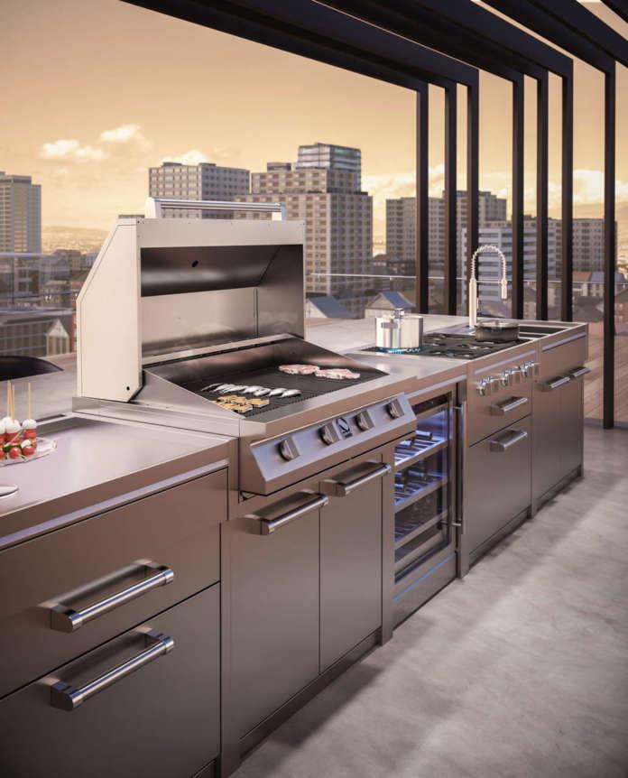 Steel cucine_outdoor
