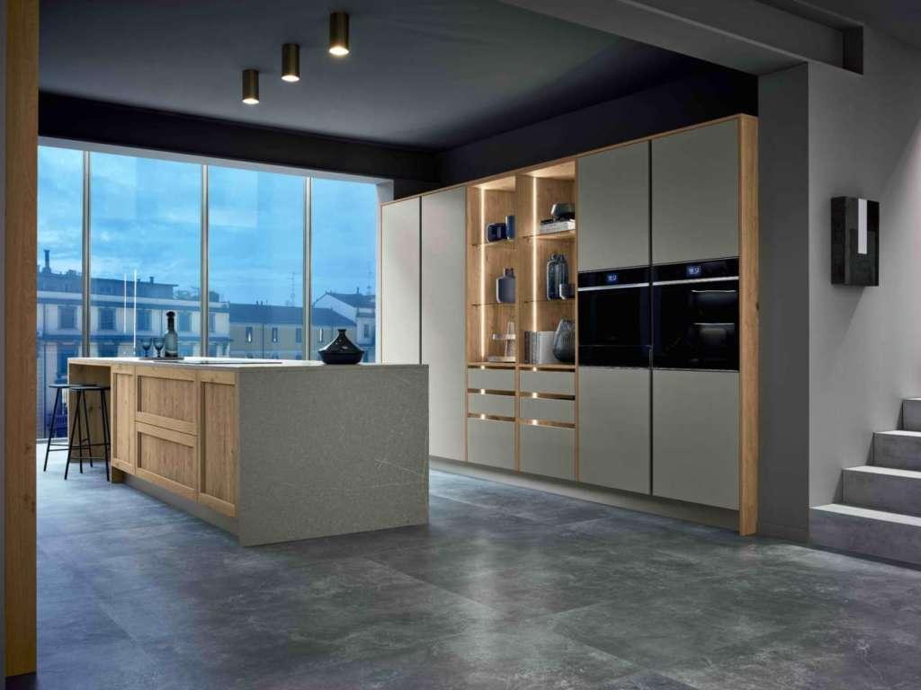 Ispirazione milanese per la nuova proposta di veneta for Cucine design milano